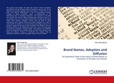 Portada del libro de Brand Names, Adoption and Diffusion