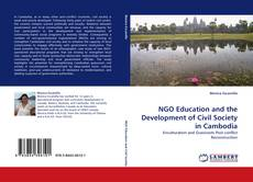 Bookcover of NGO Education and the Development of Civil Society in Cambodia