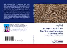 Обложка Bt isolates from India: Bioefficacy and molecular characterization