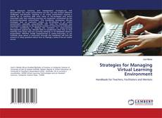 Capa do livro de Strategies for Managing Virtual Learning Environment