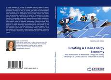 Couverture de Creating A Clean-Energy Economy