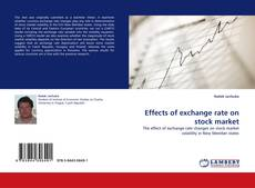 Effects of exchange rate on stock market kitap kapağı