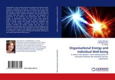 Buchcover von Organisational Energy and Individual Well-being