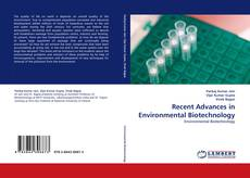 Couverture de Recent Advances in Environmental Biotechnology