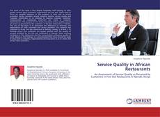 Couverture de SERVICE QUALITY IN AFRICAN RESTAURANTS