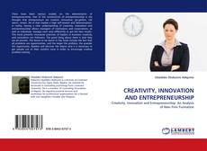 Couverture de CREATIVITY, INNOVATION AND ENTREPRENEURSHIP
