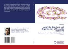 Bookcover of Analysis, Structure and Organization of Complex Networks