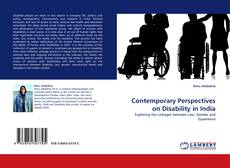 Buchcover von Contemporary Perspectives on Disability in India