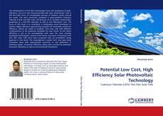 Capa do livro de Potential Low Cost, High Efficiency Solar Photovoltaic Technology