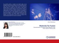 Bookcover of Materials for Fusion