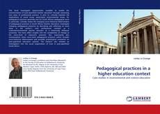 Portada del libro de Pedagogical practices in a higher education context