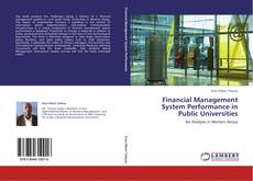 Buchcover von Financial Management System Performance in Public Universities