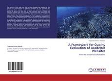Couverture de A Framework for Quality Evaluation of Academic Websites