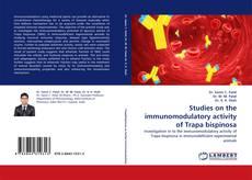 Bookcover of Studies on the immunomodulatory activity of Trapa bispinosa