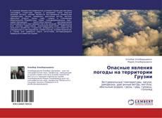 Capa do livro de Опасные явления погоды на территории Грузии