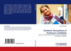Bookcover of Students' Perceptions of Professors Credibility