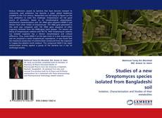 Capa do livro de Studies of a new Streptomyces species isolated from Bangladeshi soil