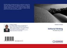 Copertina di Editorial Writing