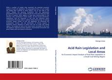 Buchcover von Acid Rain Legislation and Local Areas