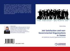 Portada del libro de Job Satisfaction and non-Governmental Organizations in Yemen