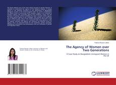 Portada del libro de The Agency of Women over Two Generations