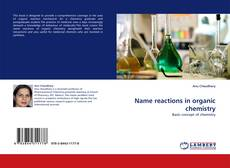 Name reactions in organic chemistry的封面