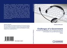 Bookcover of Challenges of e-Government