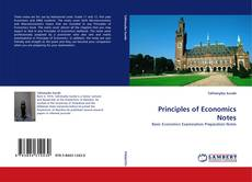 Bookcover of Principles of Economics Notes