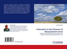 Copertina di Estimation in the Presence of Measurement errors