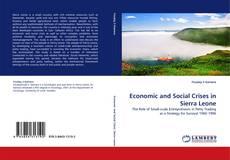 Capa do livro de Economic and Social Crises in Sierra Leone