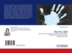 Bookcover of War for a Ball