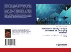 Обложка Behavior of Equity Foreign Investors on Emerging Markets