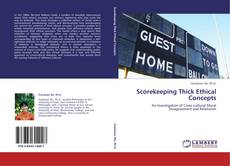 Capa do livro de Scorekeeping Thick Ethical Concepts