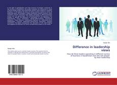 Difference in leadership views的封面