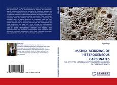 Bookcover of MATRIX ACIDIZING OF HETEROGENEOUS CARBONATES