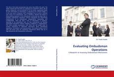 Capa do livro de Evaluating Ombudsman Operations