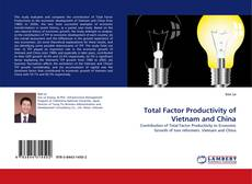 Bookcover of Total Factor Productivity of Vietnam and China