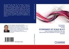 Bookcover of ECONOMIES OF SCALE IN ICT