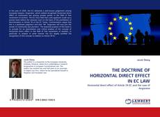 Capa do livro de THE DOCTRINE OF HORIZONTAL DIRECT EFFECT IN EC LAW