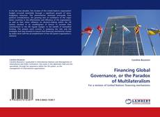 Обложка Financing Global Governance, or the Paradox of Multilateralism