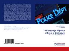 Portada del libro de The language of police officers in Zimbabwe