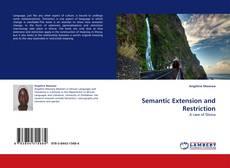 Обложка Semantic Extension and Restriction