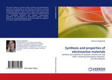 Copertina di Synthesis and properties of electroactive materials