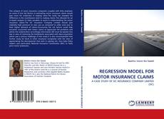 Обложка REGRESSION MODEL FOR MOTOR INSURANCE CLAIMS