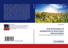 Buchcover von Characterization of polyphenols in desiccation tolerant plants