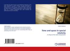 Bookcover of Time and space in special relativity