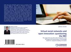 Buchcover von Virtual social networks and open innovation: questioning the RBV