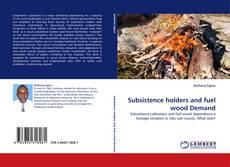 Portada del libro de Subsistence holders and fuel wood Demand
