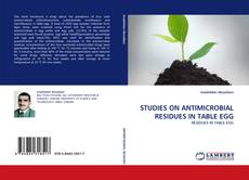 Couverture de STUDIES ON ANTIMICROBIAL RESIDUES IN TABLE EGG