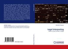 Bookcover of Legal Interpreting